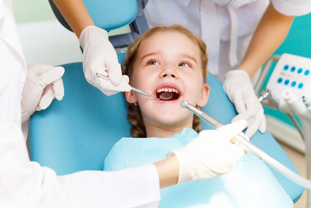 Child Visiting Dentist